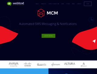 app.webtext.com screenshot