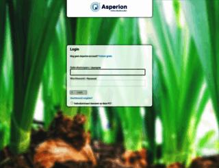 app1.asperion.nl screenshot