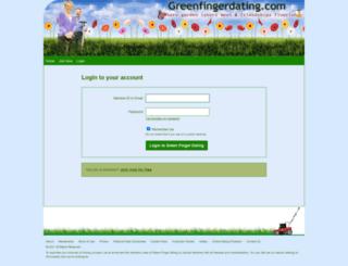app2.greenfingerdating.com screenshot