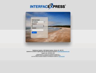 app2.interfacexpress.com screenshot
