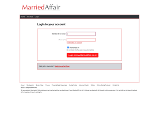 app2.marriedaffair.co.uk screenshot