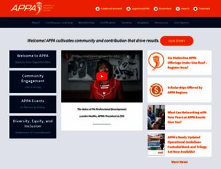 appa.org screenshot
