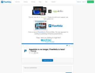 appafolio.com screenshot