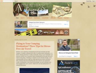 appalachiaandbeyond.com screenshot