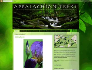 appalachiantreks.blogspot.com screenshot