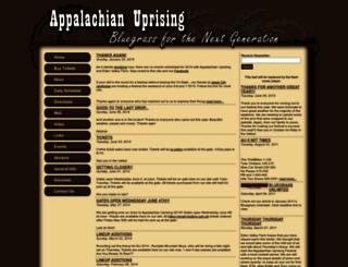 appalachianuprising.net screenshot