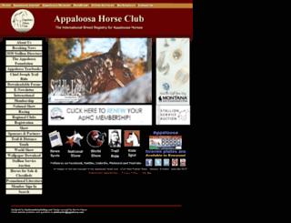 appaloosa.com screenshot