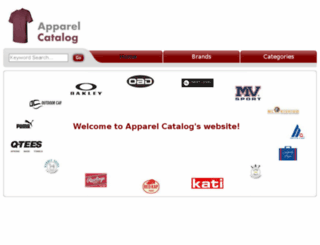 apparelcatalog.net screenshot
