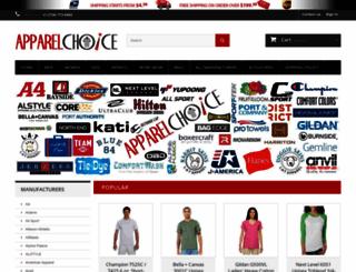 apparelchoice.com screenshot