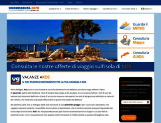 appartamenti-kos.com screenshot