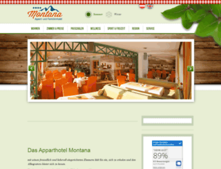 apparthotel-montana.com screenshot