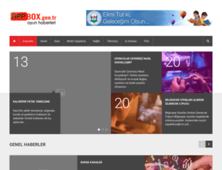 appbox.gen.tr screenshot