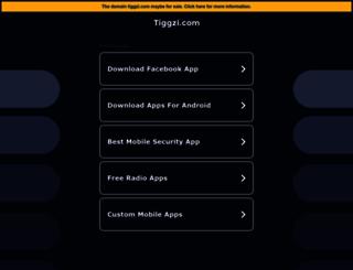 appbuilder.tiggzi.com screenshot