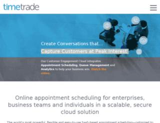 appca.timetrade.com screenshot