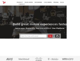 appcelerant.com screenshot