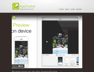 appcooker.com screenshot