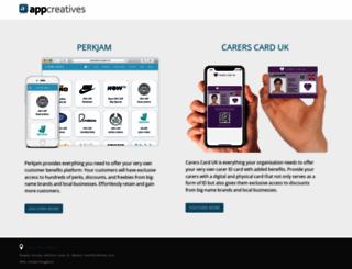 appcreatives.co.uk screenshot