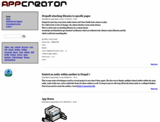 appcreator.com screenshot