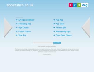 appcrunch.co.uk screenshot
