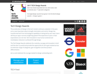 appdesignawards.co.uk screenshot
