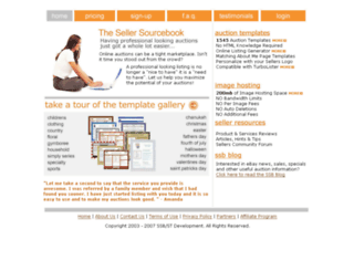 appdev.sellersourcebook.com screenshot