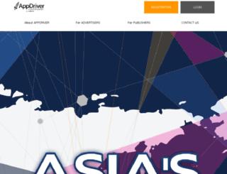 appdriver.asia screenshot