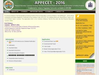 appecet.org.in screenshot