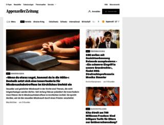 appenzellerzeitung.ch screenshot