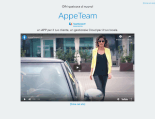 appeteam.it screenshot