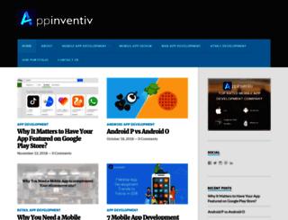 appinventiv.wordpress.com screenshot