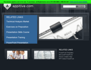 appitive.com screenshot