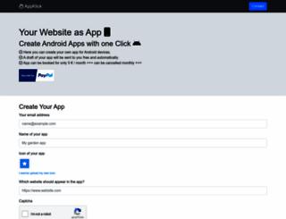 appklick.de screenshot