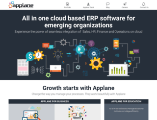 applane.com screenshot