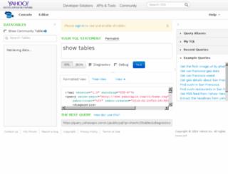 apple-finance.query.yahoo.com screenshot