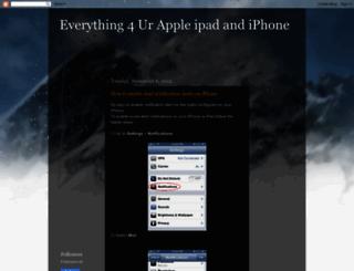 apple-ipad-iphone-ipod.blogspot.com screenshot