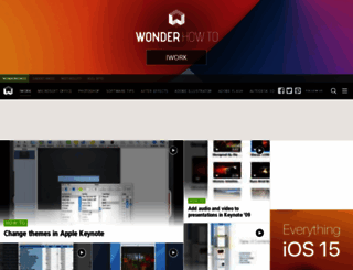 apple-iwork.wonderhowto.com screenshot