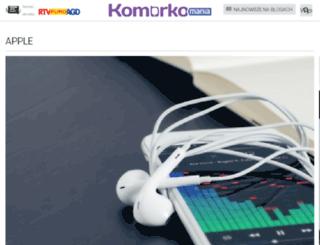apple.komorkomania.pl screenshot