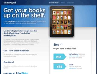 apple.libredigital.com screenshot