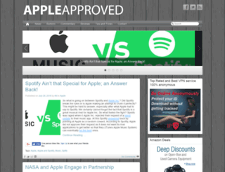 appleapproved.com screenshot