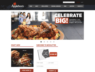 applebeesme.com screenshot