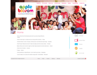 appleblosom.com screenshot
