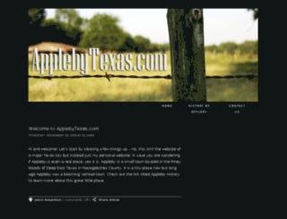 applebytexas.com screenshot