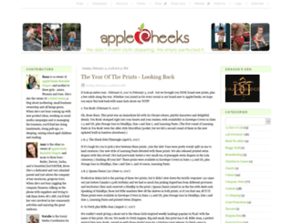applecheeks.squarespace.com screenshot