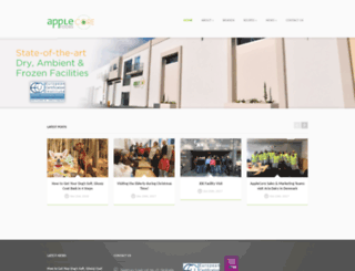 applecorefoods.com screenshot