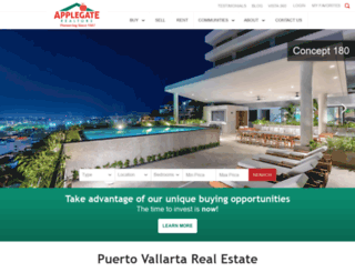 applegaterealtors.com screenshot
