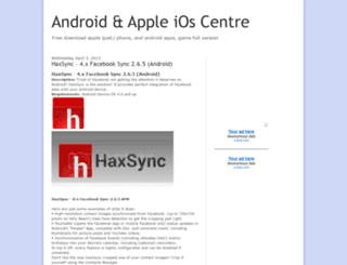 appleios-centre.blogspot.pt screenshot