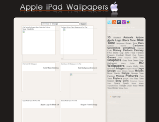 appleipadwallpapers.blogspot.com screenshot