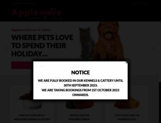applemorekennelandcattery.co.uk screenshot