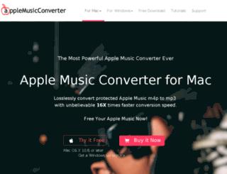 applemusicconverter.net screenshot