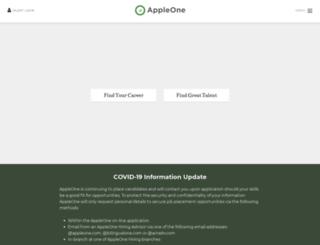 appleone.ca screenshot